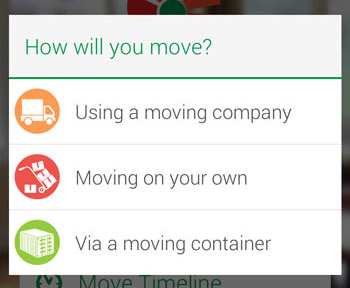 moving checklist week by week timeline app moveadvisor