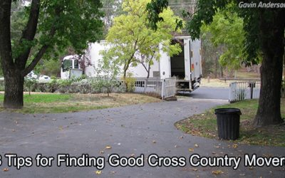 8 Tips for Finding Good Cross Country Movers