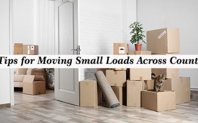 7 Tips for Moving Small Loads Across Country