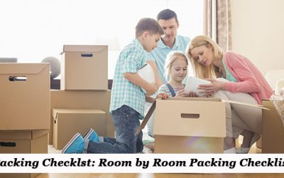 Packing Checklist: Room by Room Packing Checklist